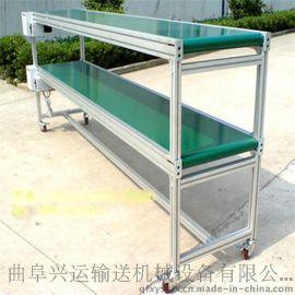 供应大倾角装车输送机 袋装粉末输送机批发 y2