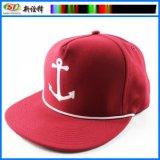 新诠释平板帽定制,纯棉平沿帽,logo刺绣嘻哈帽