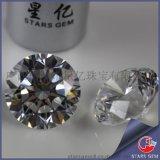 CZ宝石 立方氧化锆 八心八箭锆石