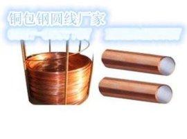铜包钢圆线/铜包钢接地棒区别