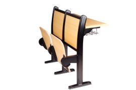 连排课桌椅阶梯教室排椅多媒体排椅学校椅 DC-301A