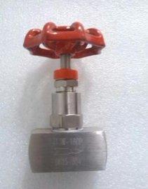 美标针型阀J11W,不锈钢内螺纹针型阀