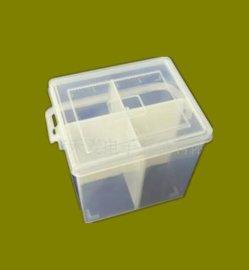 正方形4格PP盒EKB-208塑料盒塑胶工具收纳盒