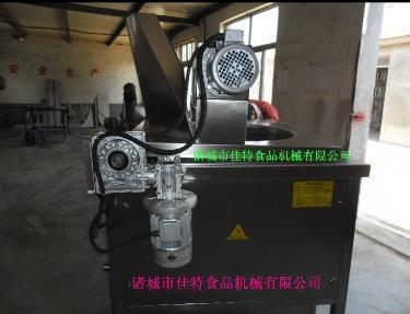 供应炸麻花油炸机  自动搅拌油炸机   油水分离油炸锅