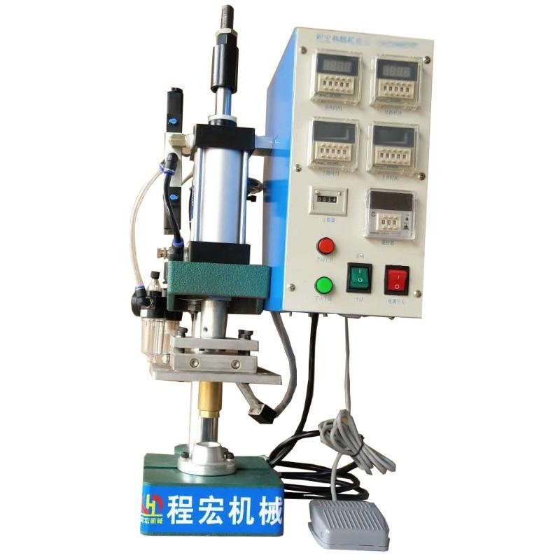 預熱式小型熱熔機/塑料熱熔機/熱熔機/熱合機/圓柱熱熔膠柱熔接機
