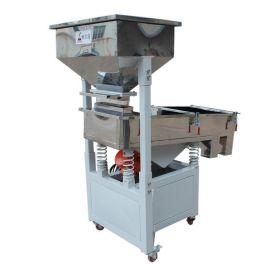 天津厂家直销粉末颗粒振动筛 三创塑料颗粒直线筛选机