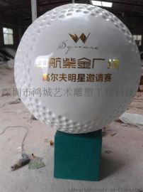 GEFQ-03高品质玻璃钢高尔夫球/签名高尔夫球/旋转高尔夫球