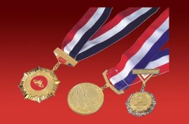 商贸运动会奖牌奖章制作厂家,团体**奖牌,金银铜奖牌奖章