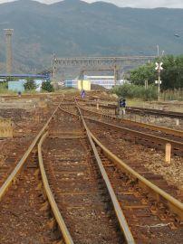 专线9879木枕60-7号单开道岔
