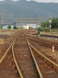 專線9879木枕60-7號單開道岔