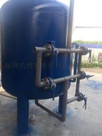 碳钢石英砂活性炭机械过滤器