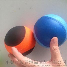 【現成模具生產】70毫米PU玩具棒球廠家直銷