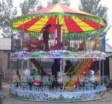 新款豪华转马直销 简易旋转木马价格 儿童游乐设备