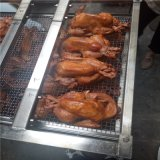 河北熏鸡机器生产厂家,华钢50kg熏鸡熏炉功能