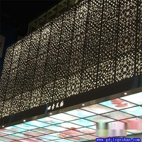 墙面装饰雕花铝板   扶梯铝板 大同铝单板