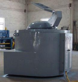 燃气式坩埚熔铝炉 厂家订做铝合金燃油坩埚式熔化炉