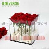 亚克力制品定制|水晶花盒|鲜花收纳盒