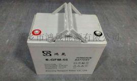 鸿晟能源12V55AH电动代步车蓄电池组