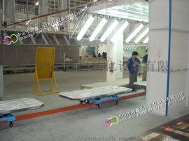 中山木质地板输送线,家具生产线,办公家具流水线