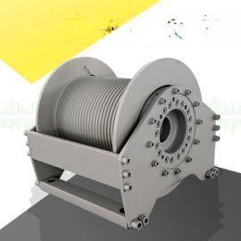 高空作业提升液压卷扬机  大拉力液压绞车配压绳器