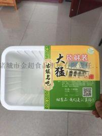 蒸碗扣肉连续式真空封碗包装机