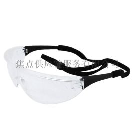 霍尼韦尔 Honeywell 黑色镜框 透明镜片 防雾眼镜 1005985