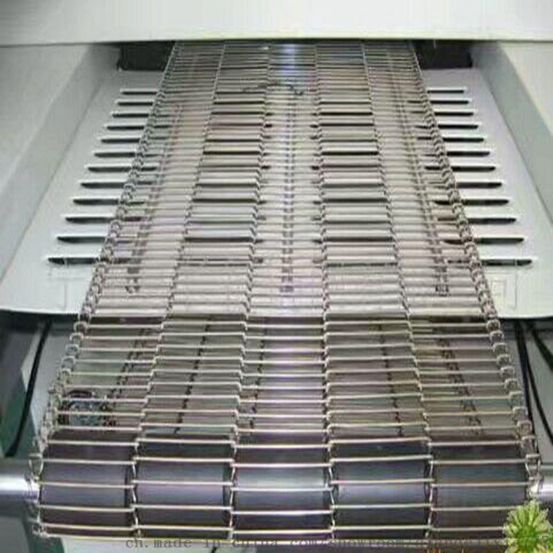 烘焙流水线乙型网带 食品油炸不锈钢输送带及配套链轮