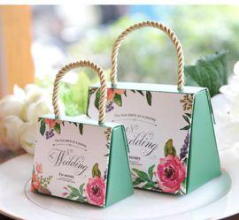 厂家定制手提袋印刷糖果盒手提袋包装盒定做印刷免费设计logo