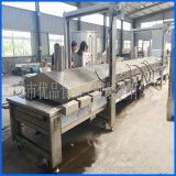 供应青豆蚕豆油炸机 专业生产花生油炸机成套设备