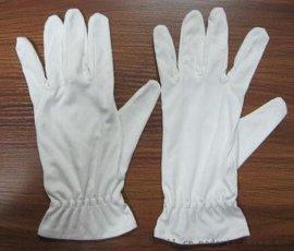 **白手套 超细纤维无尘布手套 **礼仪珠宝手套 无尘不掉屑
