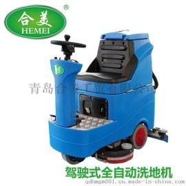 車庫用駕駛式全自動洗地機合適嗎?