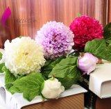 新款春色單支繡球仿真牡丹花 家居裝飾仿真花束批發