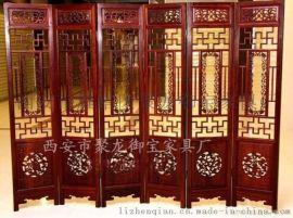 陕西西安供应古典屏风 家居屏风 酒店餐厅折叠屏风