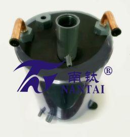 NT5000冷水机 激光冷水机蒸发器佛山激光机,冷水蒸发 佛山市南钛金属有限公司钛管生产厂家多年