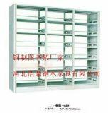 河北浩鼎图书架厂家直销钢制双面书架价格