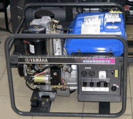 EDA5000TE柴油发电机  4.8KVA(日本 雅马哈)