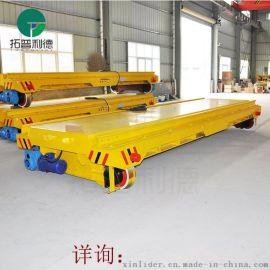 武汉拖电缆车运行高清视频 电动平板车厂家提供