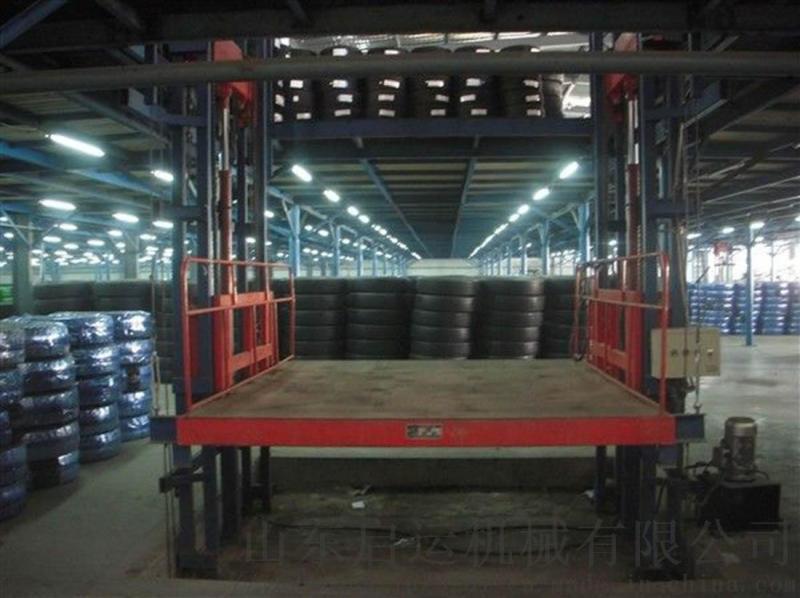三层货梯报价启运液压升降货梯厂家伊春青岛直销