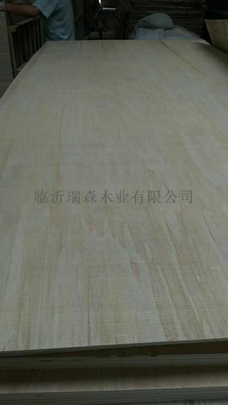 杨桉桦木漂白家具板基板 桃花芯奥古曼家具板