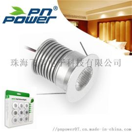 3W LED橱柜灯小射灯走廊过道背景墙客厅小射灯