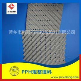 钢铁厂  PPH孔板波纹填料250YPPH规整填料