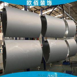 2毫米厚柱子转角弧形铝板 包柱弧形铝板定制 弧形铝板包柱子