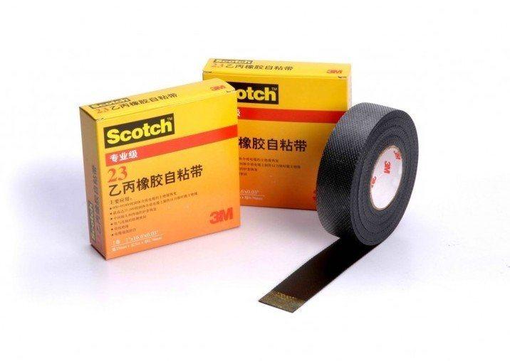 3M scotch 23乙丙橡胶自粘胶带