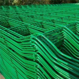 养殖双边丝护栏网框架护栏网现货供应