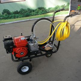 高压道路划线机 手推式地标线划线机无气喷涂划线机