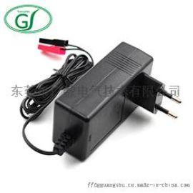 8.4V3A电源适配器 欧规25.2W锂电池充电器
