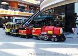 儿童游乐园设施观光轨道小火车公园小火车游乐场小火车