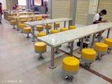 美食铺餐桌凳子定做加工