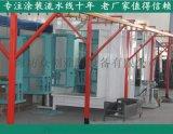 茶叶机械喷粉生产线 自动涂装线 众创十年喷涂经验