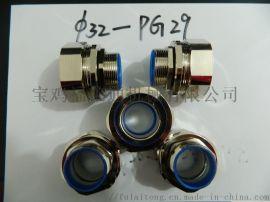 电缆电线接头不锈钢材质NPT螺纹